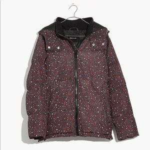 deed3d256b5 Madewell Quilted Puffer Parka in Starry Night